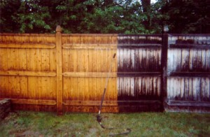 Gainesville, FL fence pressure washing services